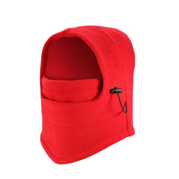 2018 Mask Hat Fleece Ski Winter Warm Caps Face Mask Ear-Flap Hat Hunting Caps Cycling Trapper Affordable For Women