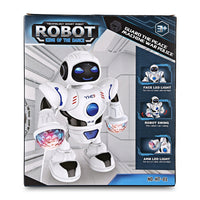 Smart Space Dancing Robot with Music Flashing LED Light