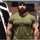2018 New Mens Summer Bodybuilding cotton Short sleeve t shirt Gyms Fitness  shirts male casual workout black tee tops clothing