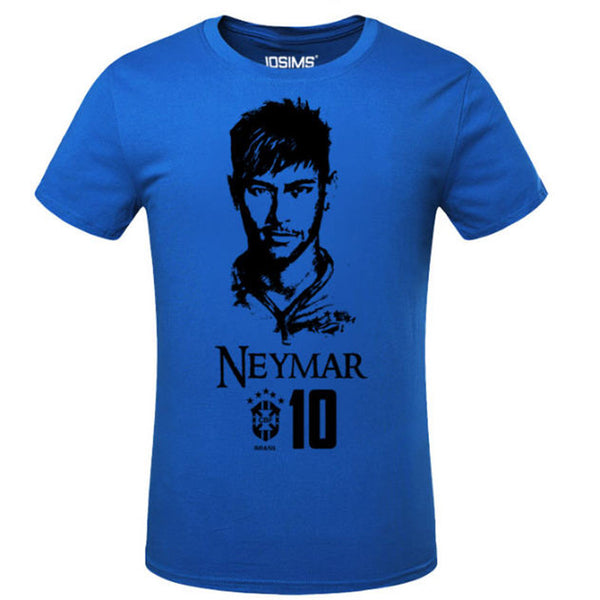 2018 New World Cup Neymar Da Silva T-Shirt Casual Cotton Compression Shirt Bodybuilding Survetement  Man T Shirt A1576