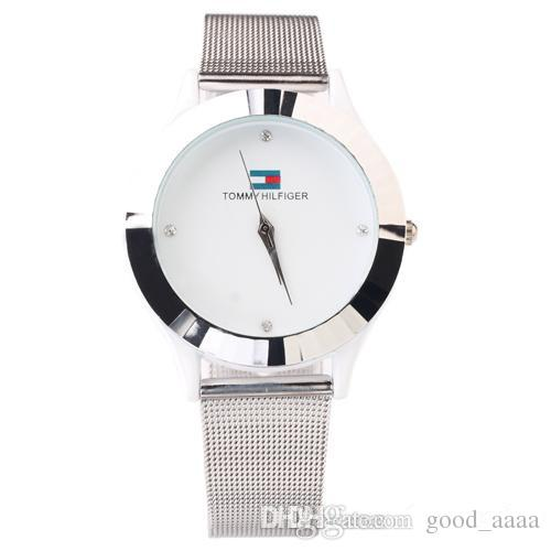 Woman luxury watches fashion lady dress Rhinestone simple crystal stainless steel Milan montre feminino orologi