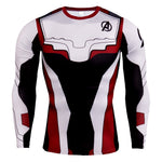 2019 NEW Superhero Marvel 3D T-Shirt MenThe Avengers 4 Endgame Quantum Realm Iron Superman Avengers Short Brand Men 3d T Shirt