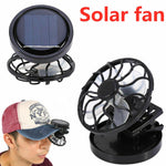 2019 New Fashion Gadget Clip-on Hat Mini Clip Solar Sun Energy Power Panel Cell Cooling Usb Fan Cooler Mini Fan
