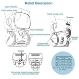 2019 New Type Robots for Kids Dance Voice Command Touch Control Toys Interactive Robot Cute Toy Smart Robotic New years Gifts