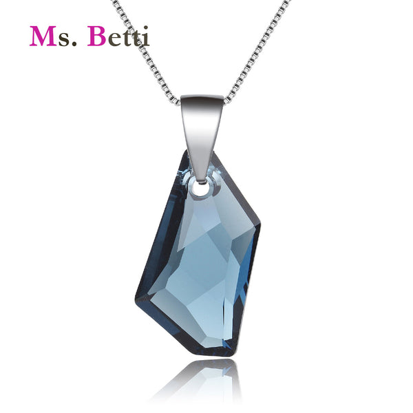 2019 New Wedding Jewelry pendant necklace for women with 100% Genuine Crystal from Swarovski good for Christmas gift Joyas