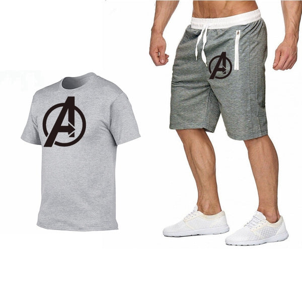 2019 Neweset Avengers Endgame T Shirt Men/women Ironman Captain America End Game Marvel T-shirt Superhero Custom TShirt+Shorts