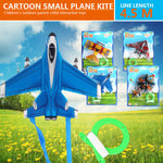 2019 Small Aircraft Kite Plastic Outdoor Kids Kite for Sports Drop Shipping