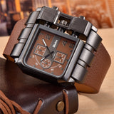 Square Dial Big Size Luxury Sport