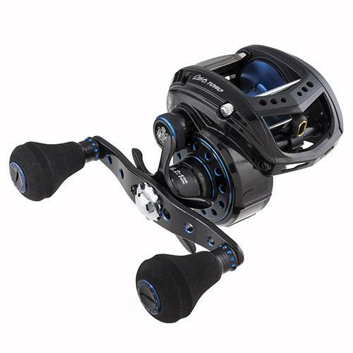 "Revo Toro Beast Low Profile Reel 51, 4.9:1 Gear Ratio, 8 Bearings, 24"" Retrieve Rate, 25 lb Max Drag, Left Hand"
