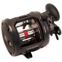 "Warfare Level Wind Conventional Reel 30, 3.9:1 Gear Ratio, 27"" Retrieve Rate, 15 lb Max Drag, Right Hand, Boxed"