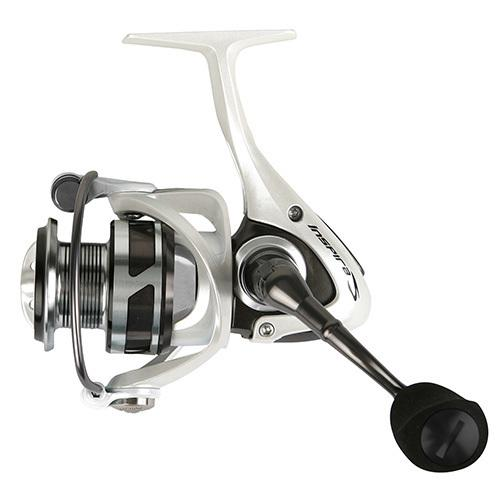 "Inspira Spinning Reel 5.0:1 Gear Ratio, 8BB + 1RB, 13 lb Max Drag, 22.60"" Line Retrieve, White"