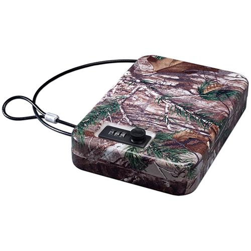 Portable Case with Combination Lock, Realtree Xtra