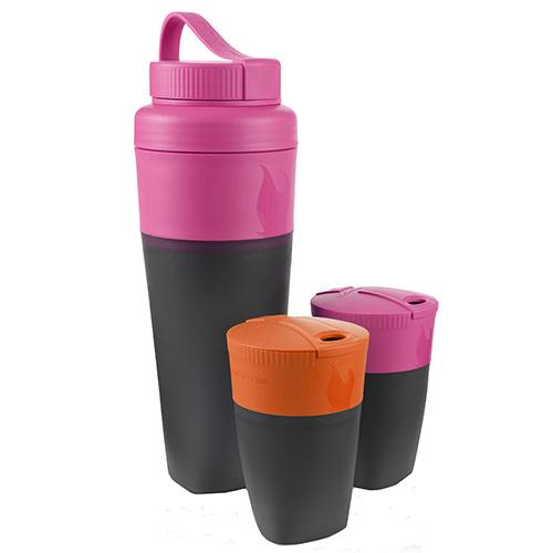 Pack Up Drink Kit Fuchsia and Orange