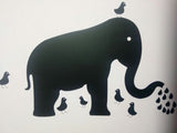 Animal Blackboard Wall Sticker for Kid's for any Room.