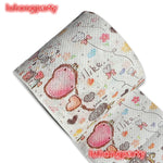 2Packs 30m/pack cute love design Printed Paper Toilet Tissues Roll Toilet Paper Novelty Toilet Tissue Wholesale