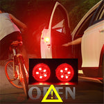 2pcs 5 LEDs Car Door Warning Flash Lamp Safety Indication Wireless Anti-Collision signal light parking lamps