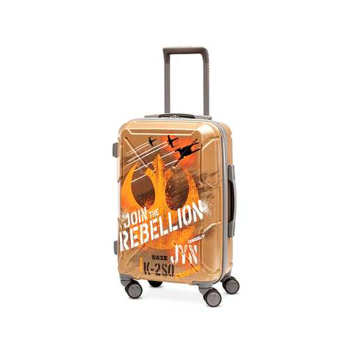 American Tourister Star Wars Join the Rebellion 20 Inch Spinner Carry On Luggage Case