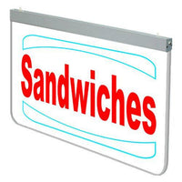 Actiontek Acrylic LED Sign - Sandwiches