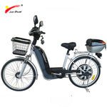 "36V 500W Brushless Motor Electric Bicycle with Lead-acid Battery 22"" 1.75 Electric Scooter Motorcycle Ebike Very Cheap"