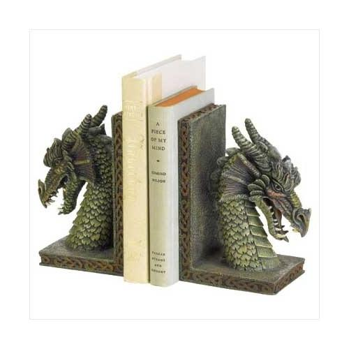Fierce Dragon Bookends (pack of 1 PR)