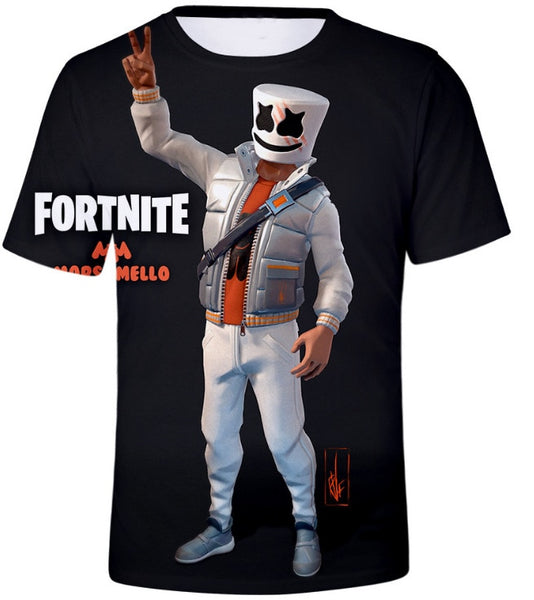 3D Fortnited Battle Royale Funny T Shirt Fortnitr Game Punk Men Women Harajuku Streetwear Tee Shirt Plus Size Hip Pop Sweat Tops