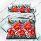 3D Sex Bedding Sets Tiger Leopard Printed Queen Size 4Pcs Bedclothes Pillowcases Bed Sheet Duvet Cover Set