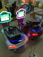 3D kiddie ride on toy cars,coin operated kiddie ride,coin swing riders for kids Swing Machine