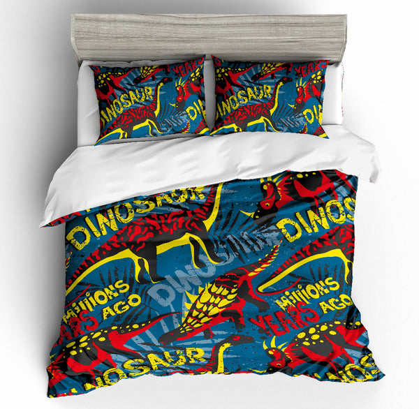 3D print Bedding set Dinosaurs years enchanted frinds' gift bedding sheet Duvet cover set Home Textiles