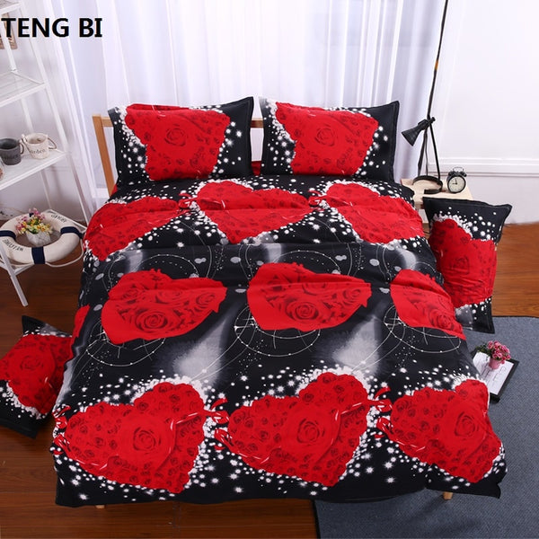 3d bedding sets Butterfly Marilyn Monroe Leopard rose bedclothes duvet cover sheet Queen king twin panda bedspread bed linen