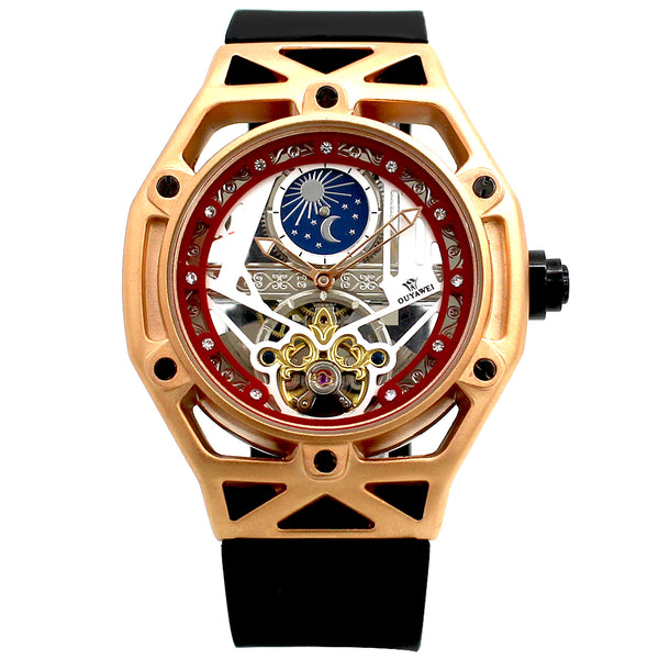 2018 Luxury Moon Phase Automatic Mechanical watch