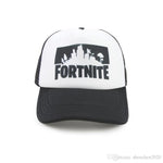 4 Colors Fortnite Battle Royale Baseball Caps Cowboy Trucker Snapbacks Fortnite Adjustable Visor Sun Hats Sports Caps 12pc