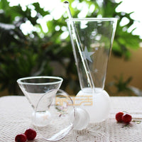 4pieces a suit Exclusive star crystal glass grinding ice wine decanter wine jug wine liquor tune glass