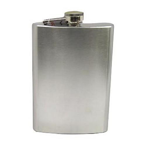 Stainless Steel Hip Flask 8 oz.