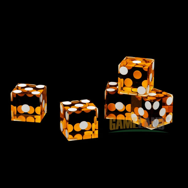 5pcs 19mm High-grade Acrylic Dice Poker Screen Casino