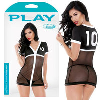 Play Team Playa Sports Jersey Blk/Wh O/S