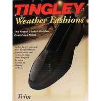 Weather Fashions Trim Rubber Overshoes
