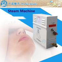 6KW 220-240V Steam Generator Household Steam Machine with Digital Control Panel Sauna Dry stream Furnace Wet Steam Steamer