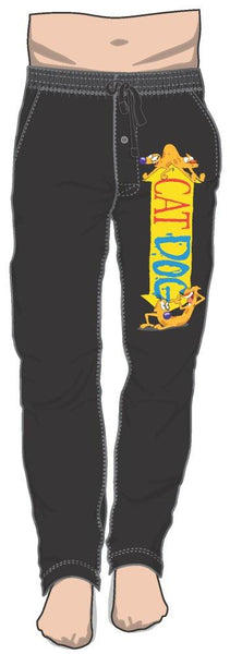 Nickelodeon TV Series Catdog Logo Sleep Lounge Pants
