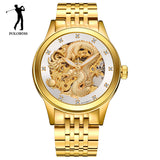 LIMITED EDITION Samurai Dragon Vintage Luxury Self Wind Golden