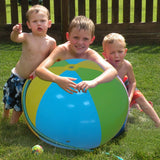 75cm Sprinkler Beach Ball Beach Lawn Inflatable Toys For Children Kids Baby family Outdoor Game Fun Plaything Pool Accessories