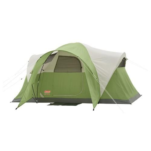 Coleman Montana 6 Tent 12x7 Foot Green/Tan/Grey 2000028055