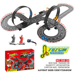 787cm New Design 1:43 realistic track Electric power racing road slot car set