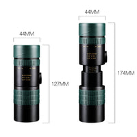 High Power Prism Lens Stretch Night Vision Monocular Scope Handheld Waterproof HD Zoom Telescope for Hunting