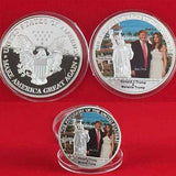 The First Couple Commemorative Coin With Donald And Melania Trump