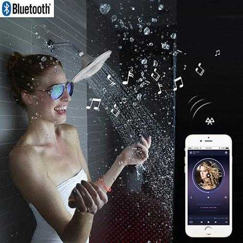 Rain Maker Shower with Bluetooth Speaker