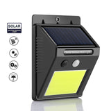 48 LED Solar Light Infrared Motion Sensor Security Waterproof