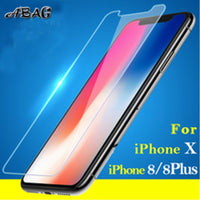 iPhone X Tempered glass for iPhone 6 6S 7 8 Plus Screen protector glass film for iPhone 5 SE 5C 4 Explosion-proof film