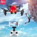 Mini Drone With Camera HD S9 or No Camera. Foldable RC Quadcopter Altitude
