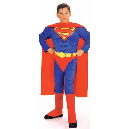 SUPERMAN CHILD W CHEST MED