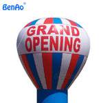 AG024    8m = 26' hot sale amazing inflatable ground balloon&inflatable ad &inflatable model